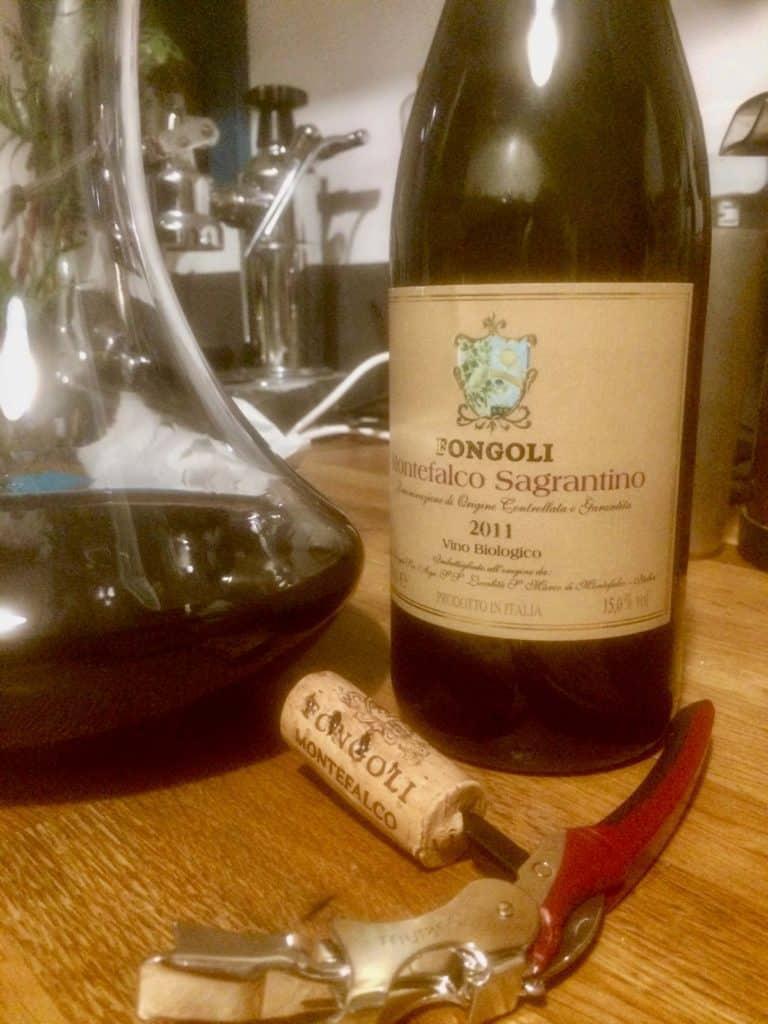 Sangrantino Wine