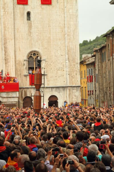 A festival in Gubbio Italy not to be missed