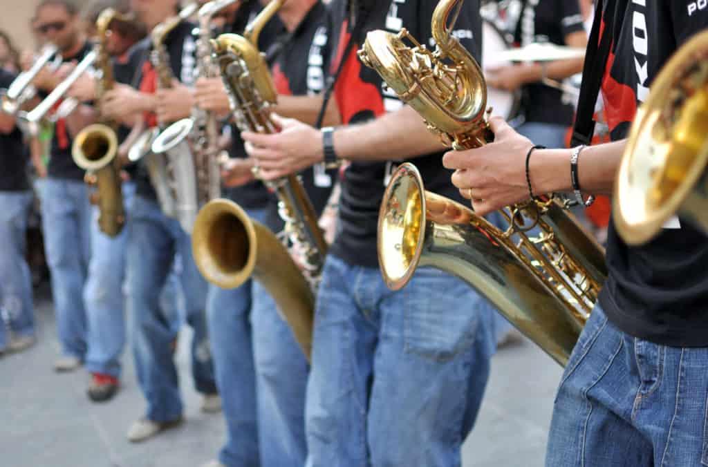 Funk Off Performing at Umbria Jazz Festival in Perugia