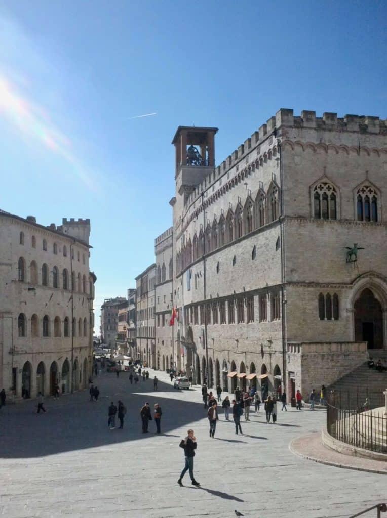 Palazzo dei Priori in Perugia.