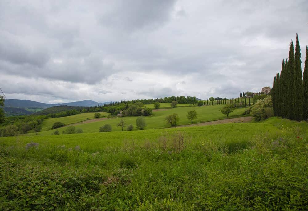 Around Citta di Castello in Umbria