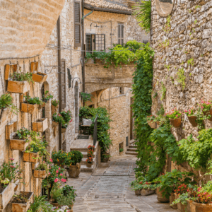 The Umbrian town of Spello